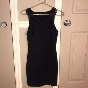 Forever 21 black bodycon dress